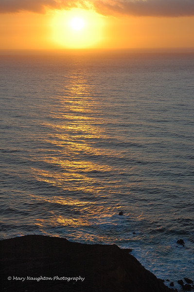 Big Sur CA Sunset