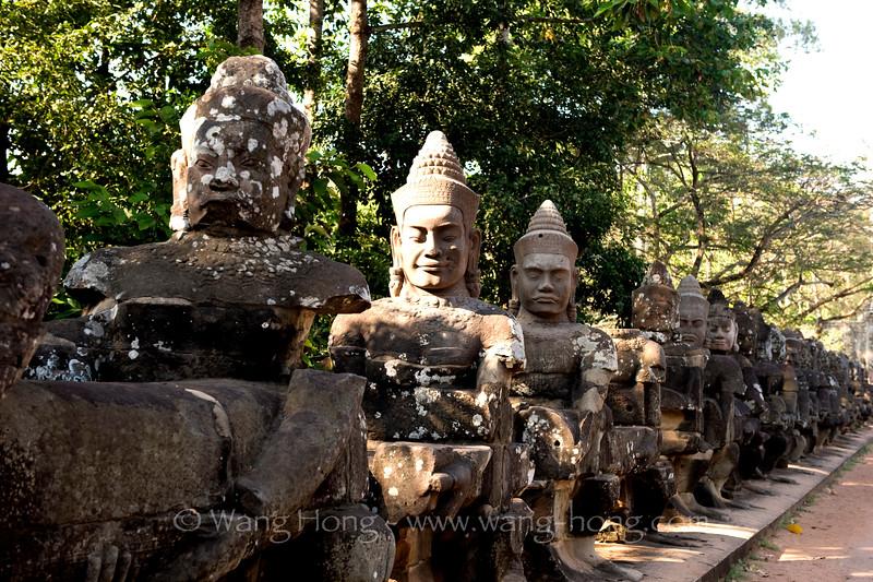 Angkor Thom - south gopura