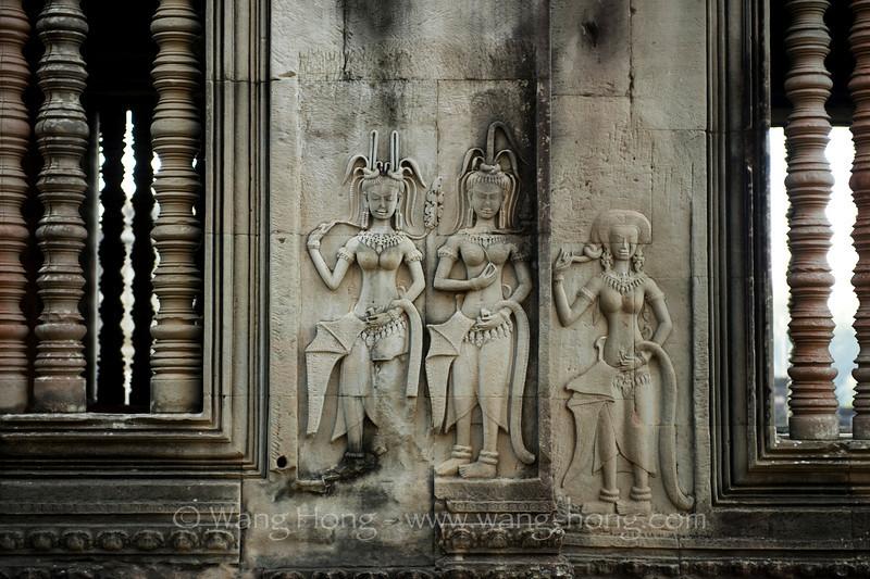 Angkor Wat - Apsaras