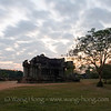 Angkor Wat north library - after sunset