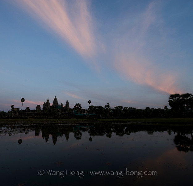Angkor Wat - after sun set