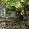 Ruins in the jungle, at Beng Mealea.