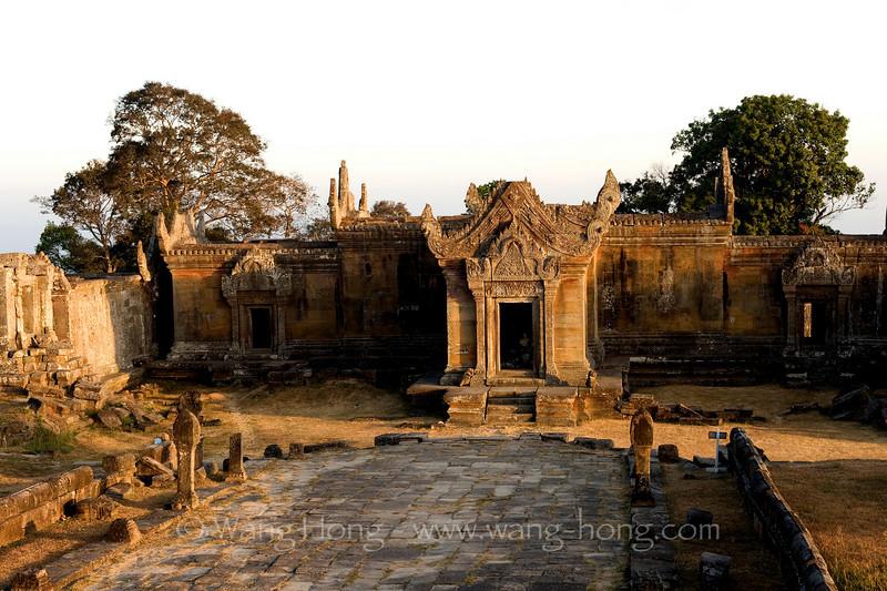 Preah Vihear at sun rise