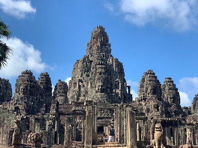 Bayon - the faces temple (216 in total)