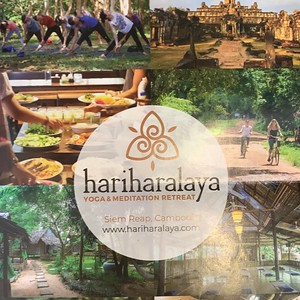 Retreat time - the amazing Hariharalaya
