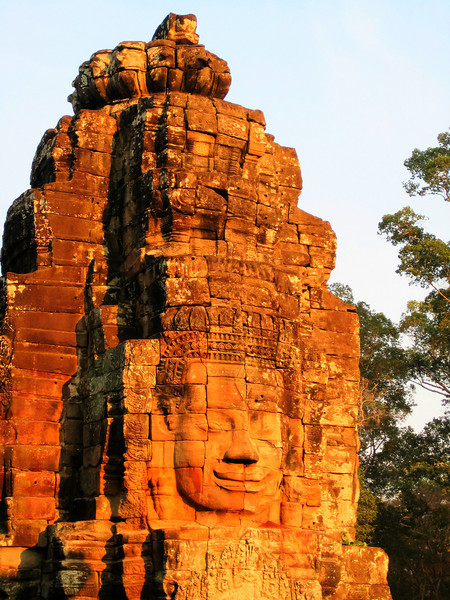 Pretty sure this is Bayon, Cambodia.
