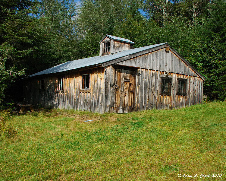 The original camp.  Built in 1940 as a cook shack for loggers