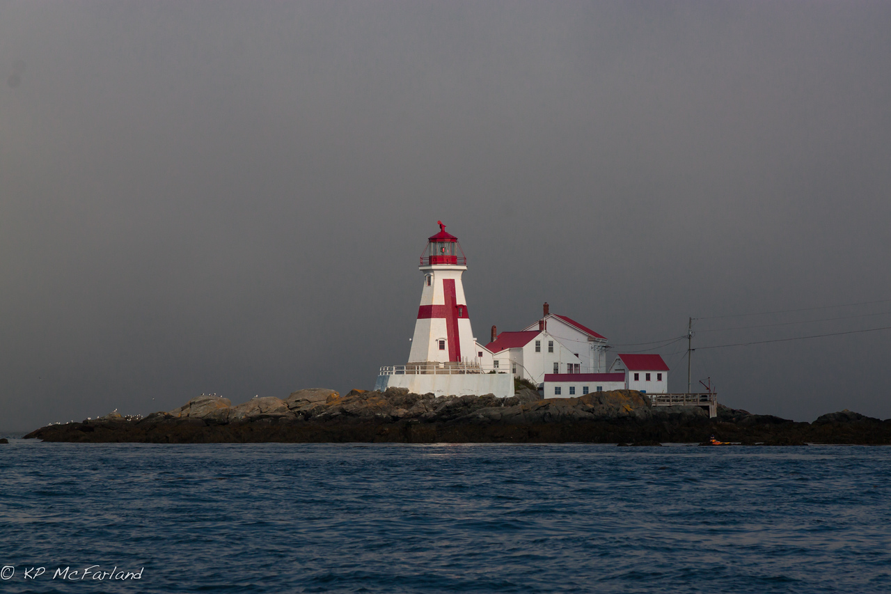 Head Harbour (East Quoddy) Lighthouse, New Brunswick Canada