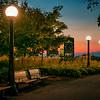night-walk at Major's Hill Park