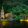 Japanese Garden by night