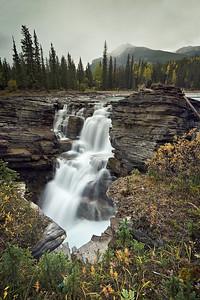 Athabasca Falls, Alberta Canada