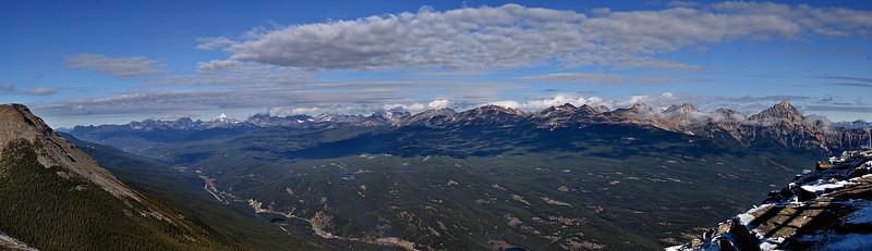 Whistler.  Jasper, Alberta Canada.  7 image stitch.