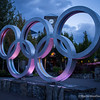 Olympic Rings, Whistler Village