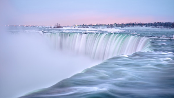 Niagara Falls, Early Morning Light