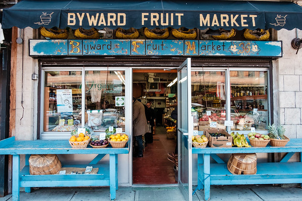 Byward Fruit Market in Ottawa