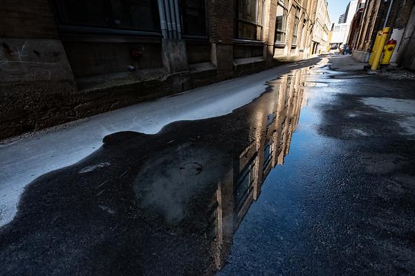 Hall's Lane Reflection