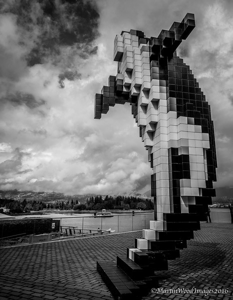Digital Orca (8 Bit Whale as we call him), Vancouver, BC