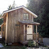 Our amazing cabin for a few days in Qualicum Beach, BC, Canada
