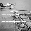 Sea Planes at Coal Harbour, Vancouver, BC