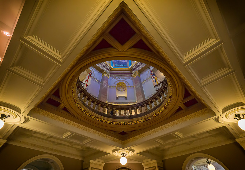 BC Legislature interior