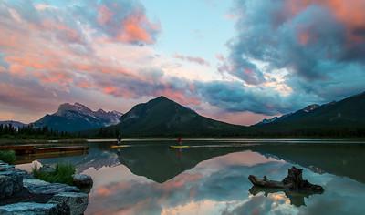 Third Vermilion Lake, Banff, Alberta, Canada