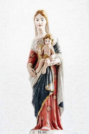Madonna and Child  Louisbourg Copyright 2021 Steve Leimberg UnSeenImages Com _U0A0078 copy
