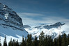Crowfoot Mountain and Mount Jimmy Simpson - Icefields Parkway - April 7 2007