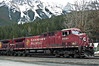 195-0003 Canadian Pacific 9581 at Field, April 11, 2009