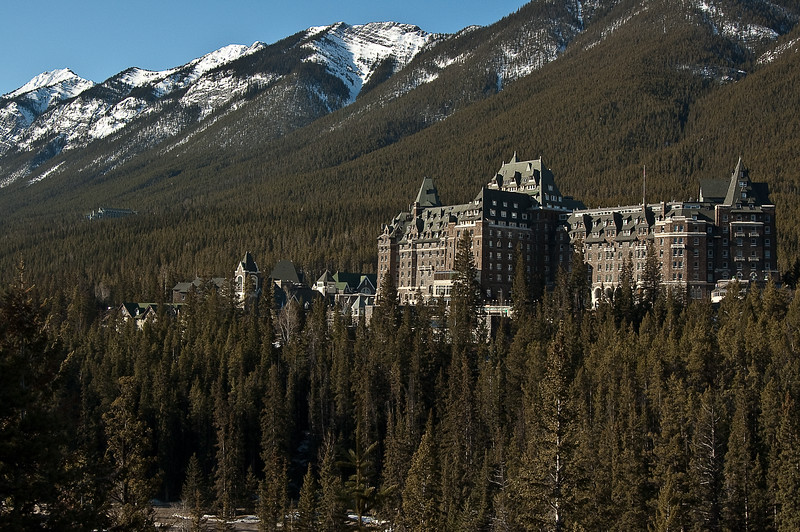 194-0103 Banff Springs Hotel, April 11, 2009