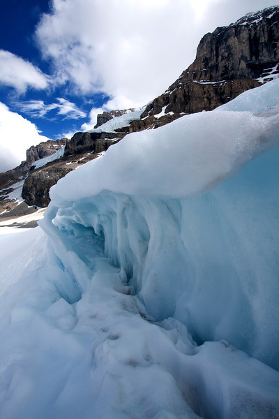 The Glacier Wall