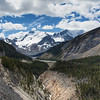 View from Icefields Parkway