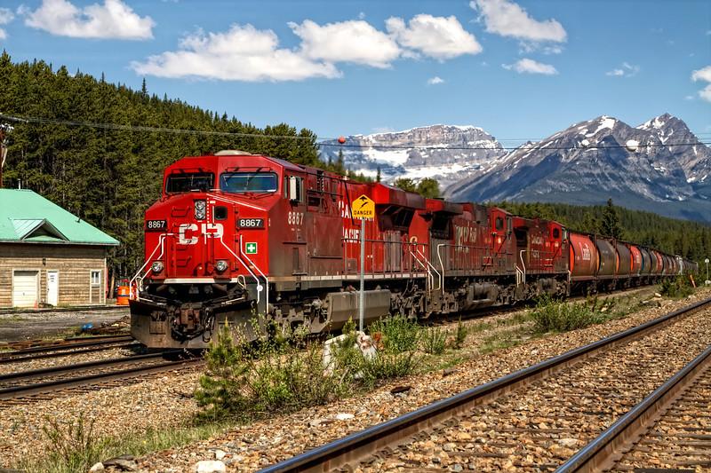Big Red Train Comin' Thru!