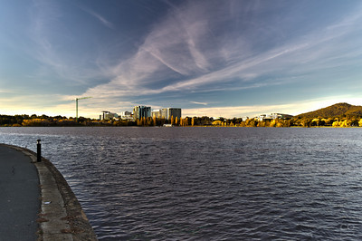 An HDR composition of Canberra City
