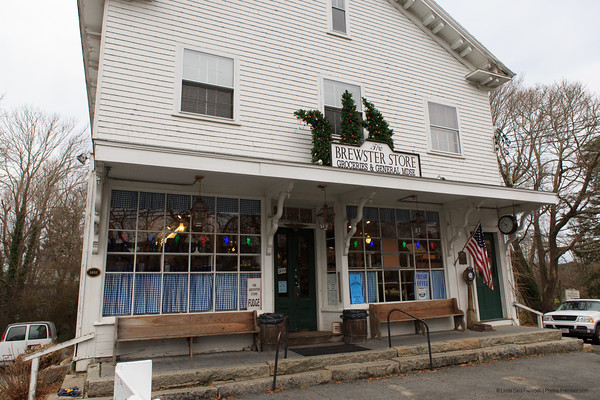 The Brewster General Store in Brewster, MA. - December 2012