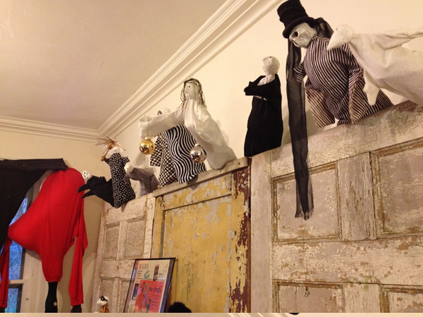 Puppets handmade by Edward Gorey - at The Edward Gorey House in Yarmouth Port
