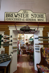 Second floor of the Brewster General Store  - December 2012