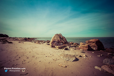 Crowe's Pasture Beach in South Dennis, MA