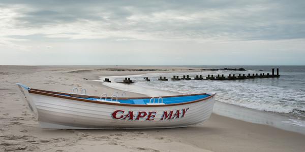 Beach at Cape May