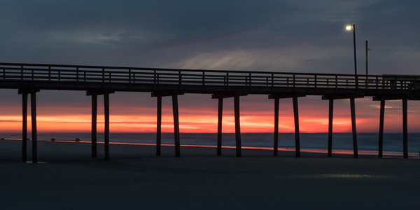 Avalon Pier at Sunrise