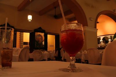 Inside a San Juan restaurant.