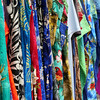 Brightly printed clothing for sale in St. Martin-St. Maarten.