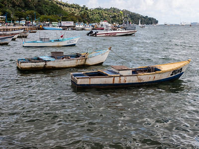 Fishing boats at Samana