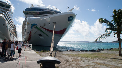 Moored in BVI
