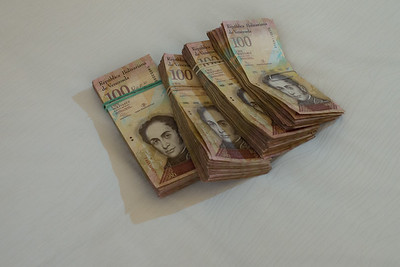 $50 is equal to 35,000 Venezuelan bolívares fuertes