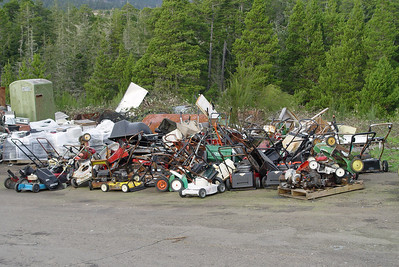 Sometimes the piles got out of hand.