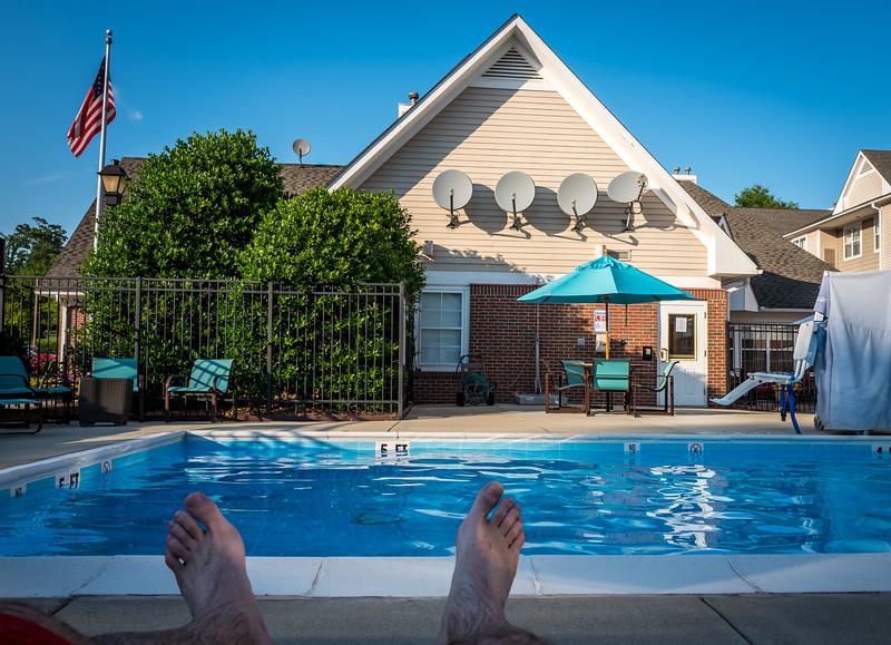 Pool in Residence Inn
