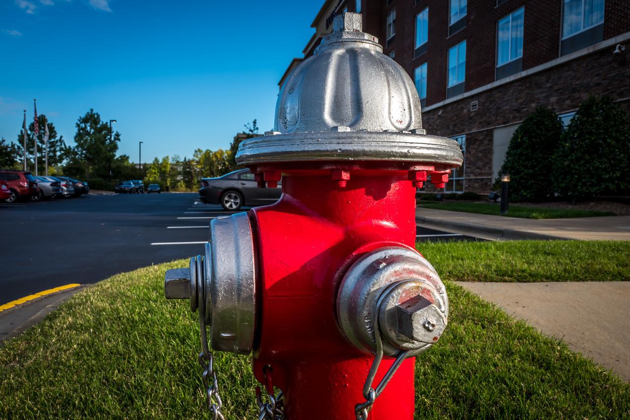 Fire hydrant inCary, NC