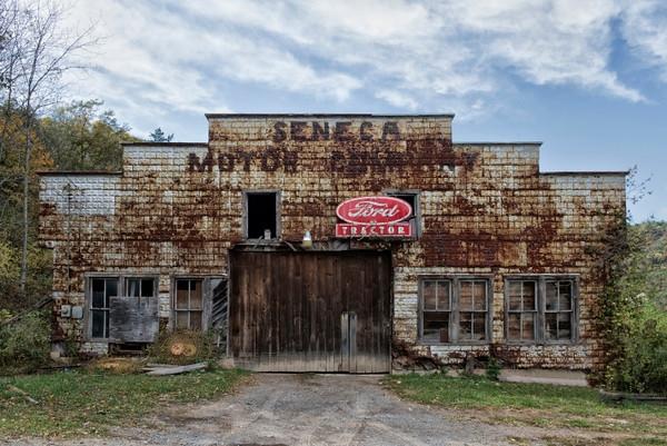 The Old Seneca Motory Company in Seneca Rocks, WV.