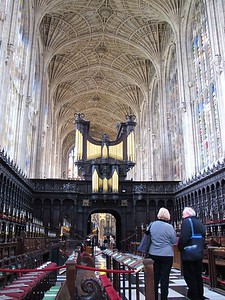King's College Cathedral, Cambridge UK