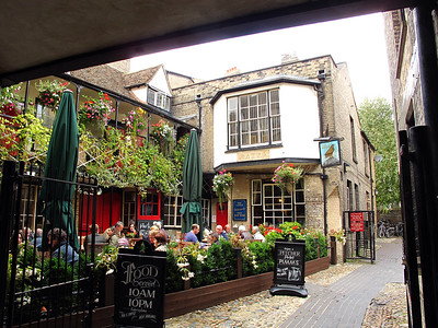 The Eagle Pub, Cambridge, England